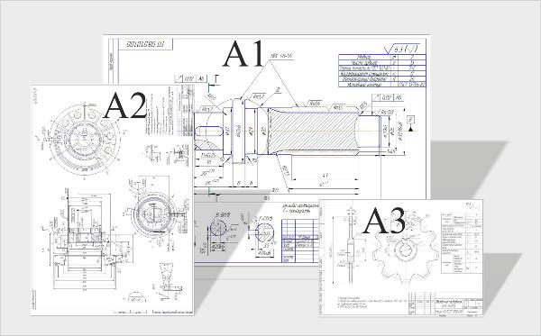 печать чертежей формата а1 в москве