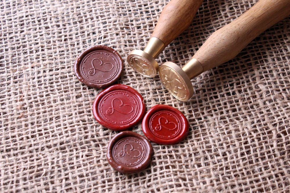 Сургучная печать - Изготовление печати из латуни