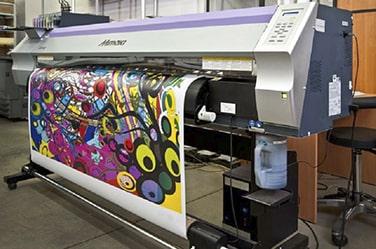 Наружная и интерьерная Широкоформатная печать